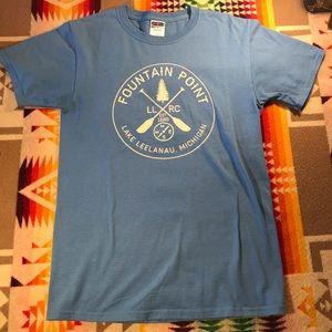 Fountain Point Lake Leelanau, Michigan T Shirt